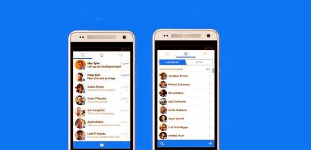 Facebook ve  Messenger'de Yeni Görünüm