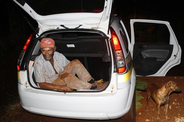 Laranjeiras do Sul:Homem é preso comendo cadela