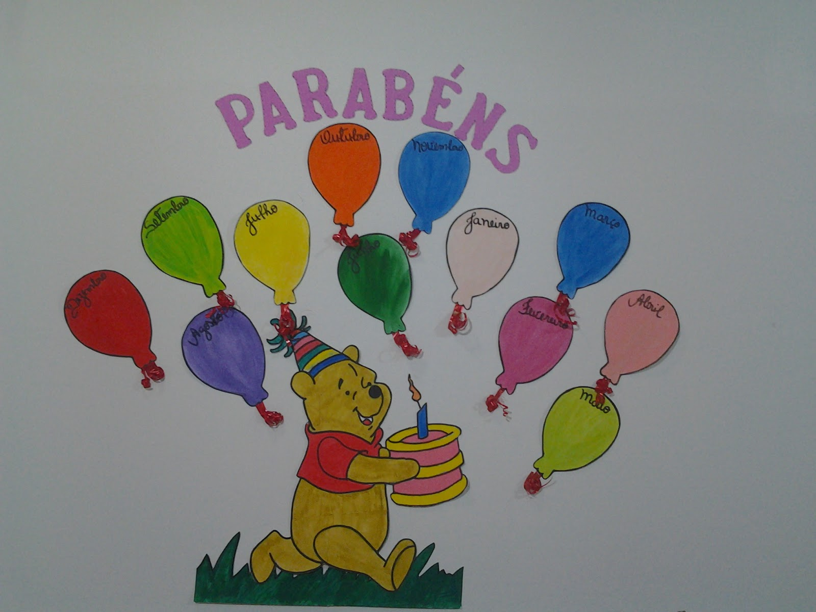 Decoracao De Sala Infantil ~  , 15 de fevereiro de 2013 # decoracao de sala aula educacao infantil