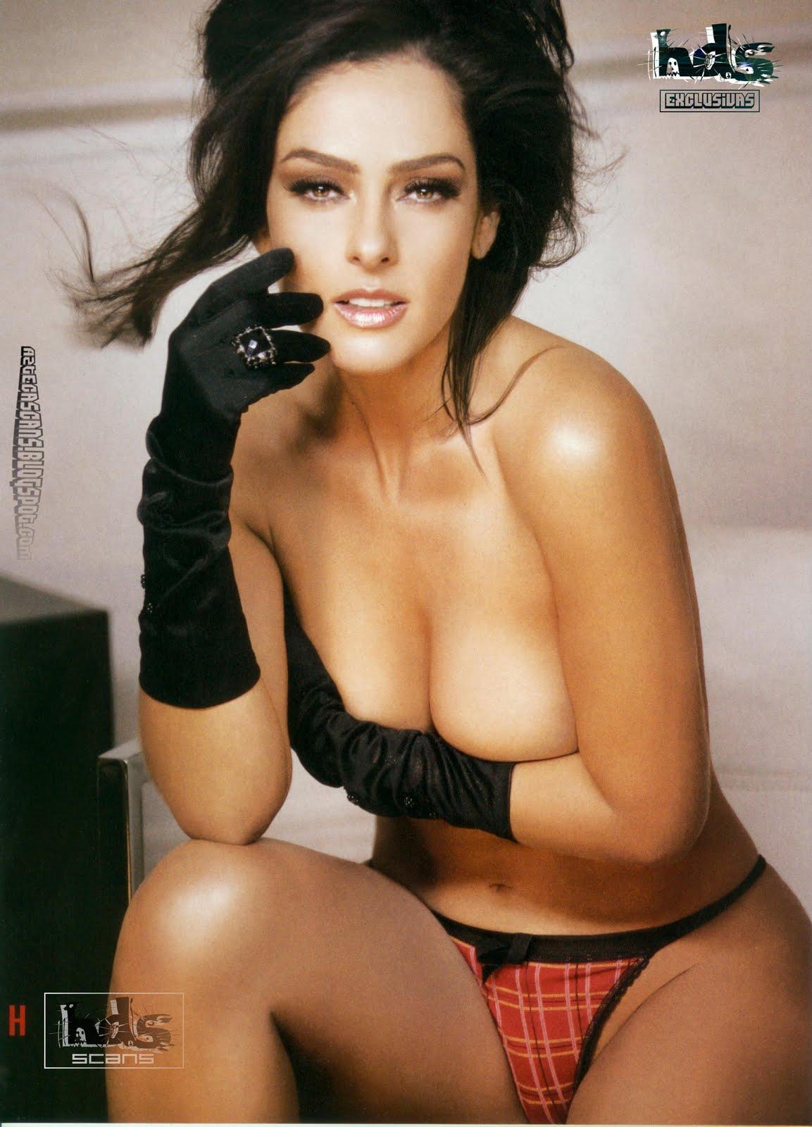 Andrea Garcia Thong And Naked