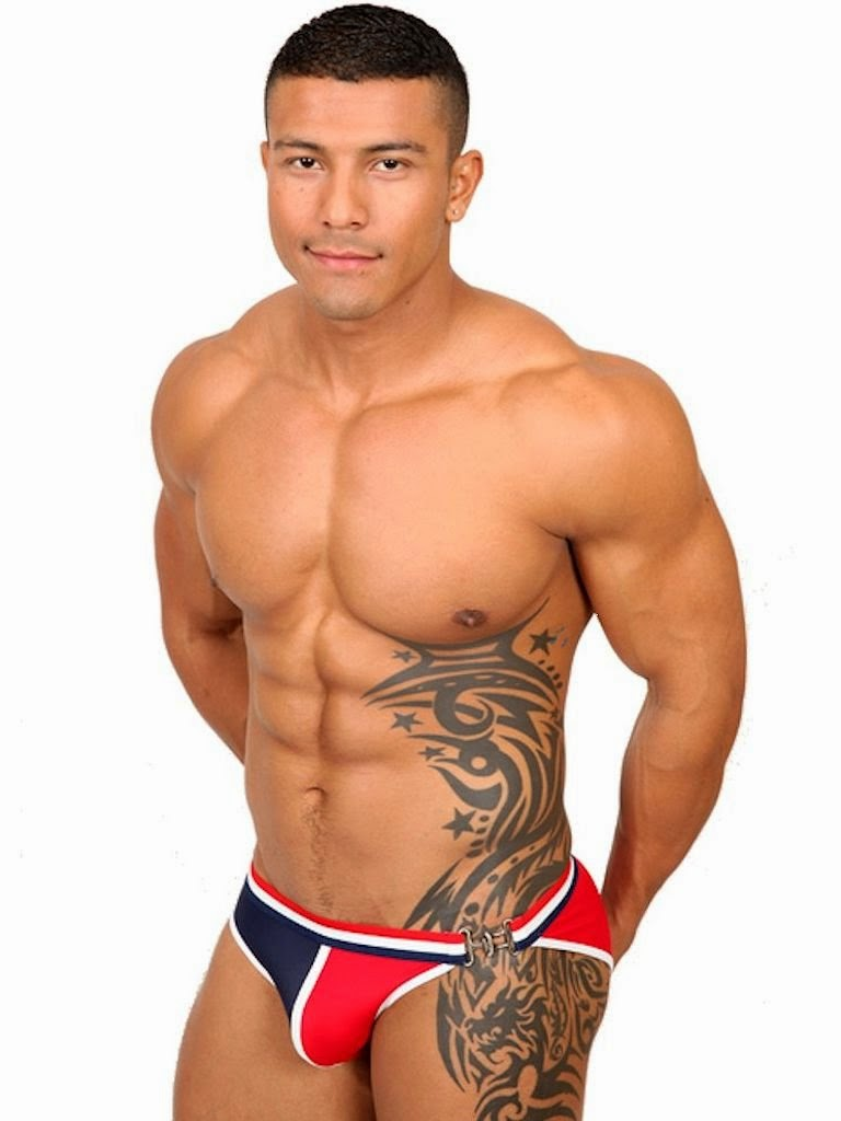 Pistol Pete Anchor Swimwear Swim Bikini Model