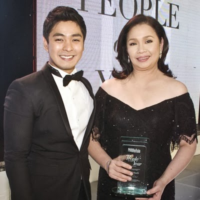 Coco Martin and ABS-CBN Boradcast Head Cory Vidanes