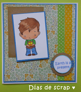 scrap tarjeta the greeting farm reto dtt