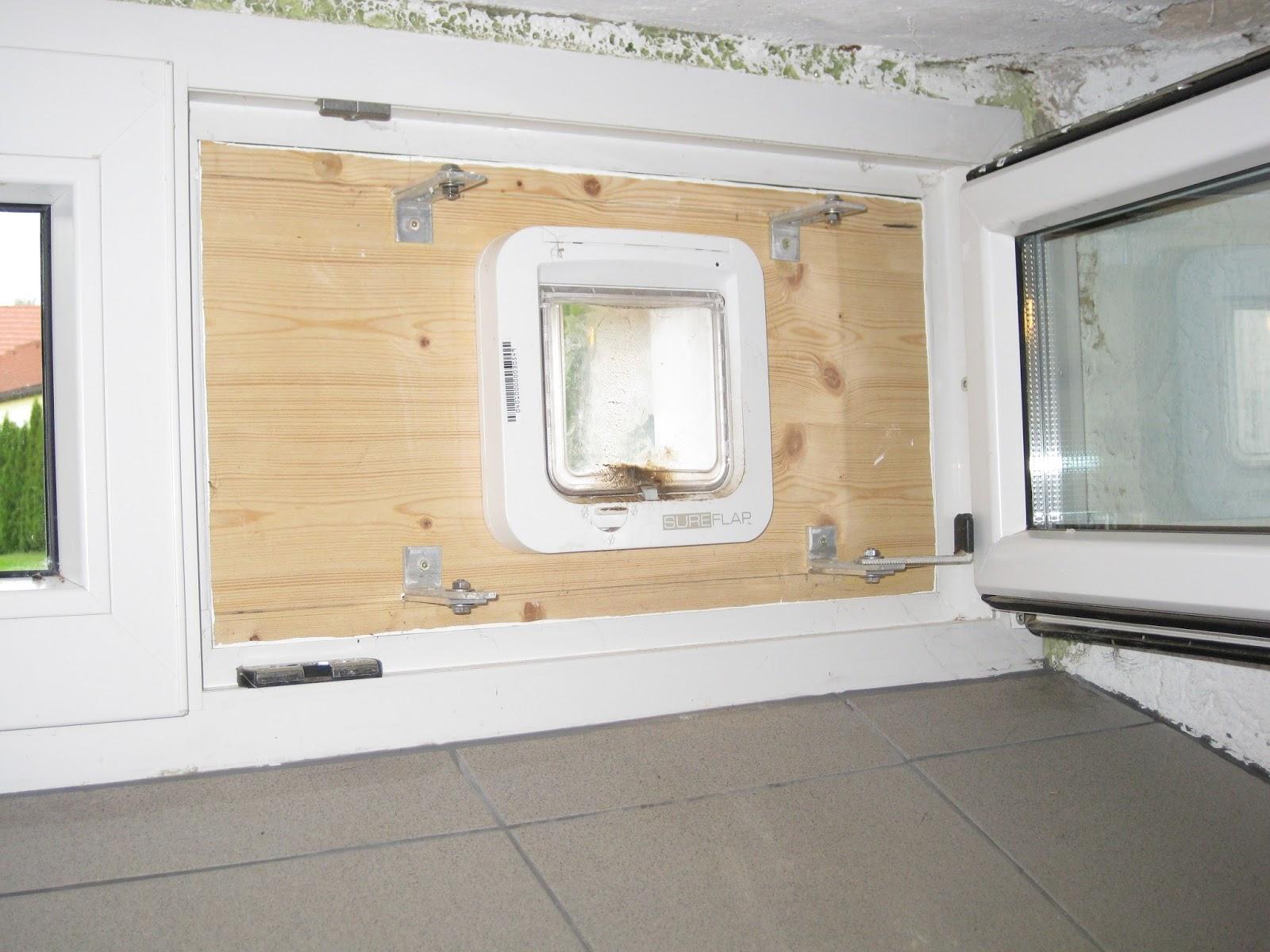 holz und metall ein heimwerkerblog katzenklappe einbauen. Black Bedroom Furniture Sets. Home Design Ideas