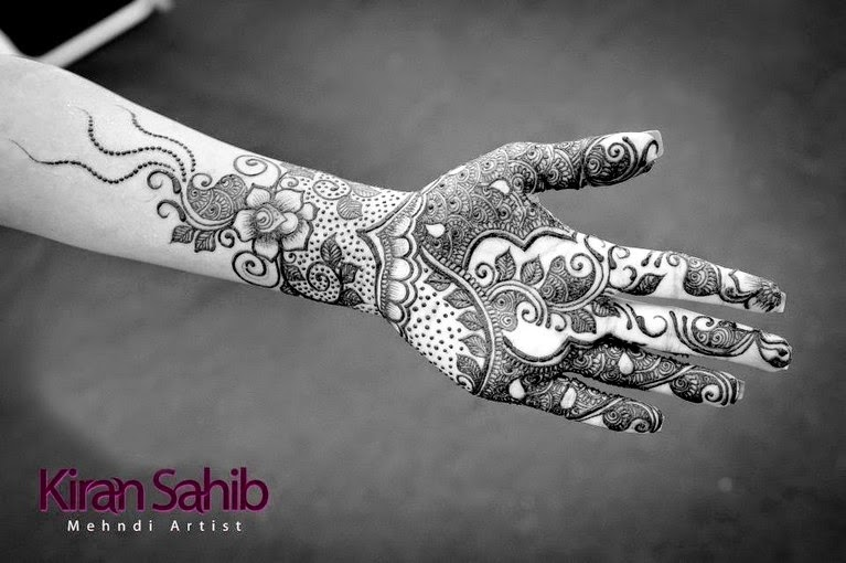 Latest Indian Mehndi Design Collection 2014 for Girls