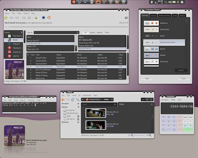 Attack of Clones GTK Theme