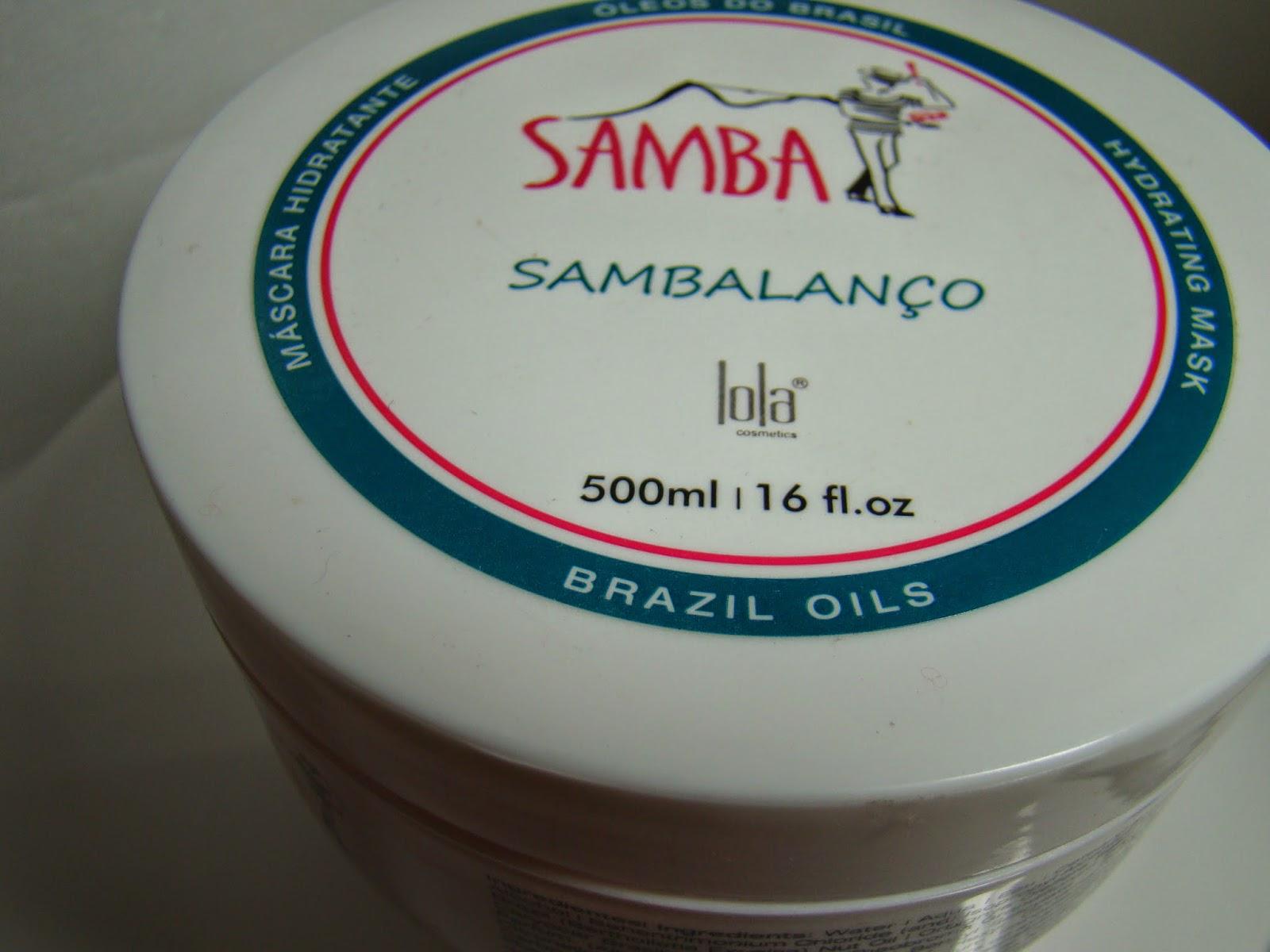 Máscara Samba Lola Cosmetics