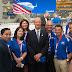 Airbus inauguró oficialmente su centro de fabricación de Estados Unidos