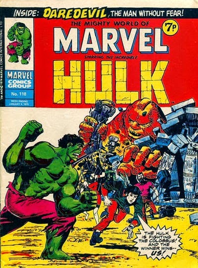 Mighty World of Marvel #118, Hulk