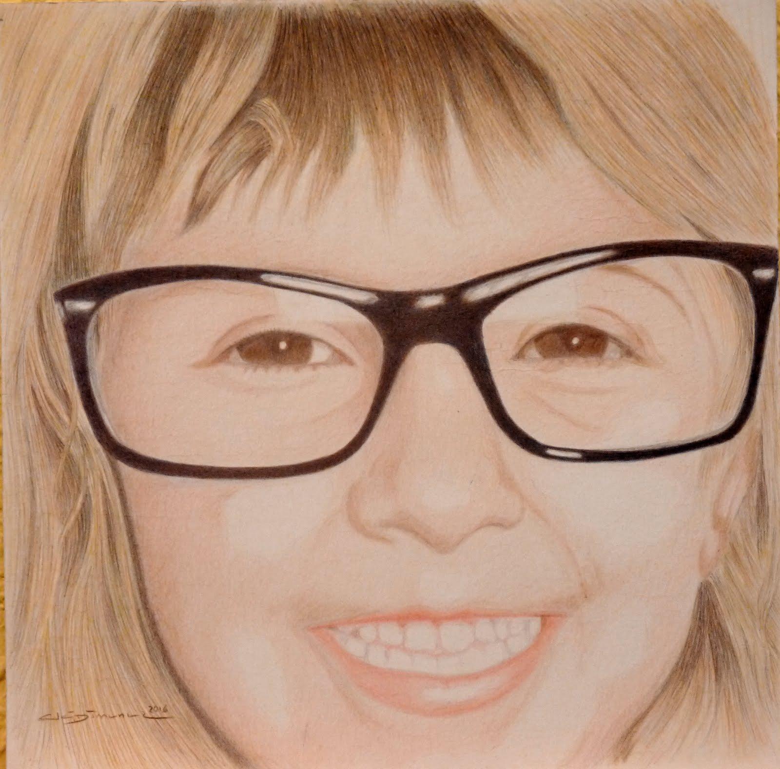 Retrato  nieta Jose Luis
