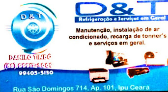 D e T Refrigeração e Serviços em Geral