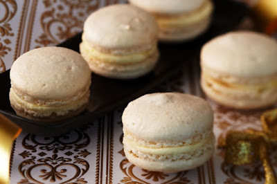 White chocolate macarons Recipe