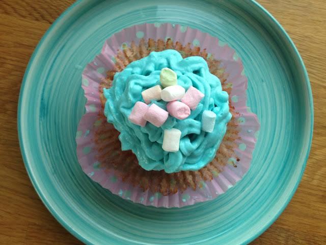 Lördagsbakade LCHF Cupcakes