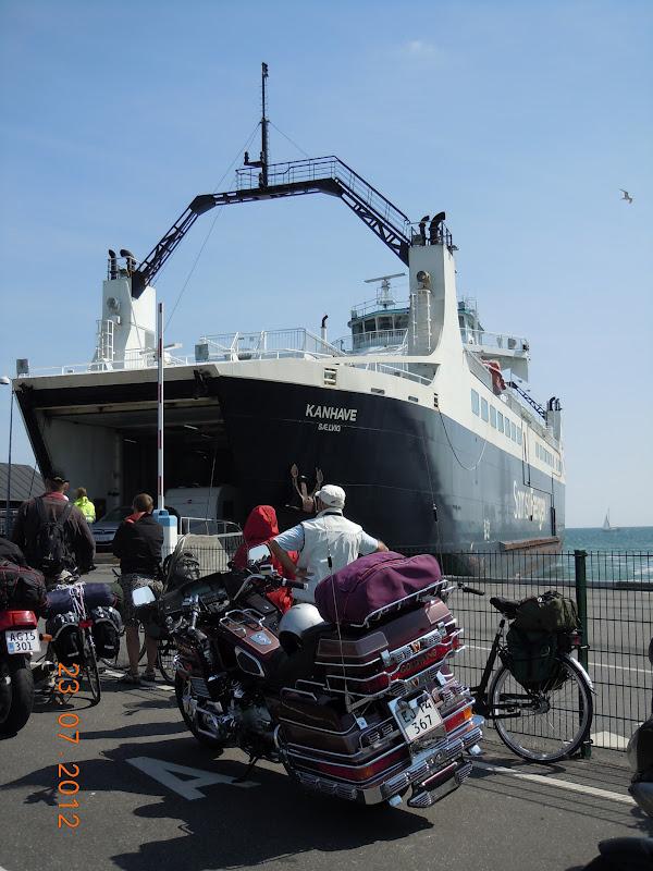 færgen til samsø