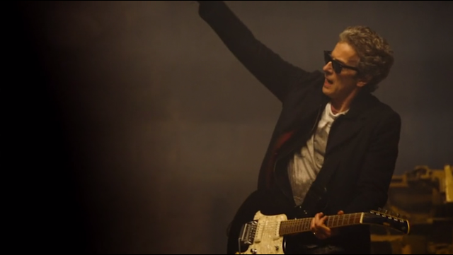 S9e1_The_Doctor_rocking_out