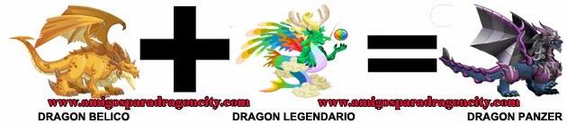 como hacer el dragon panzer en dragon city formula 1