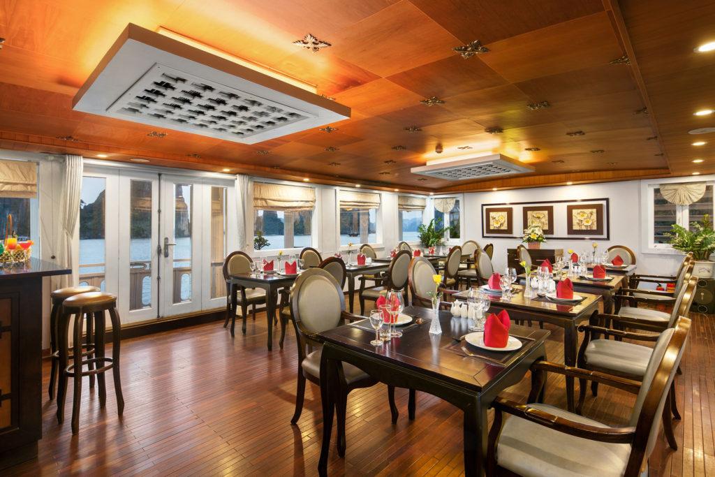 Restaurant on Glamor Star Cruise