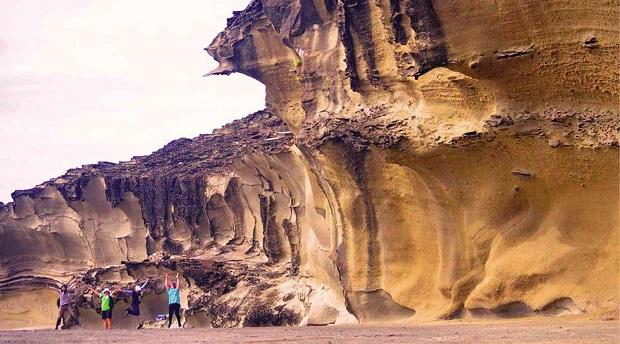 Biri Rock Formations, Catarman, Northern Samar