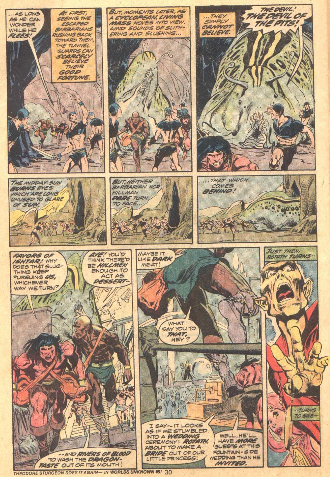 Conan the Barbarian (1970) Issue #37 #49 - English 19