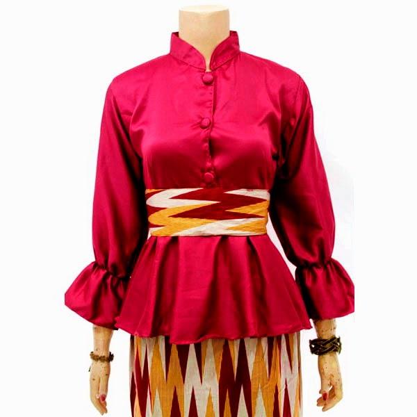Dress Batik Muslim