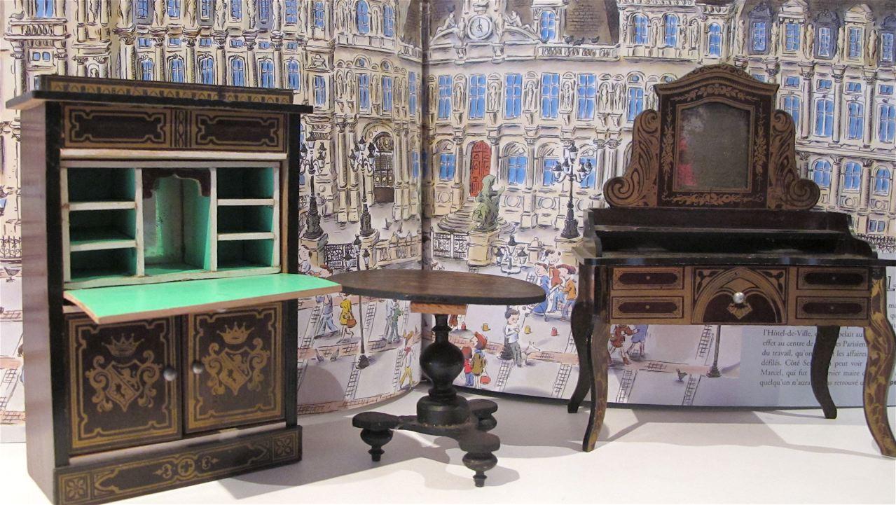 Susan 39 S Mini Homes A Little Paris At Home Antique Dollhouse Furniture