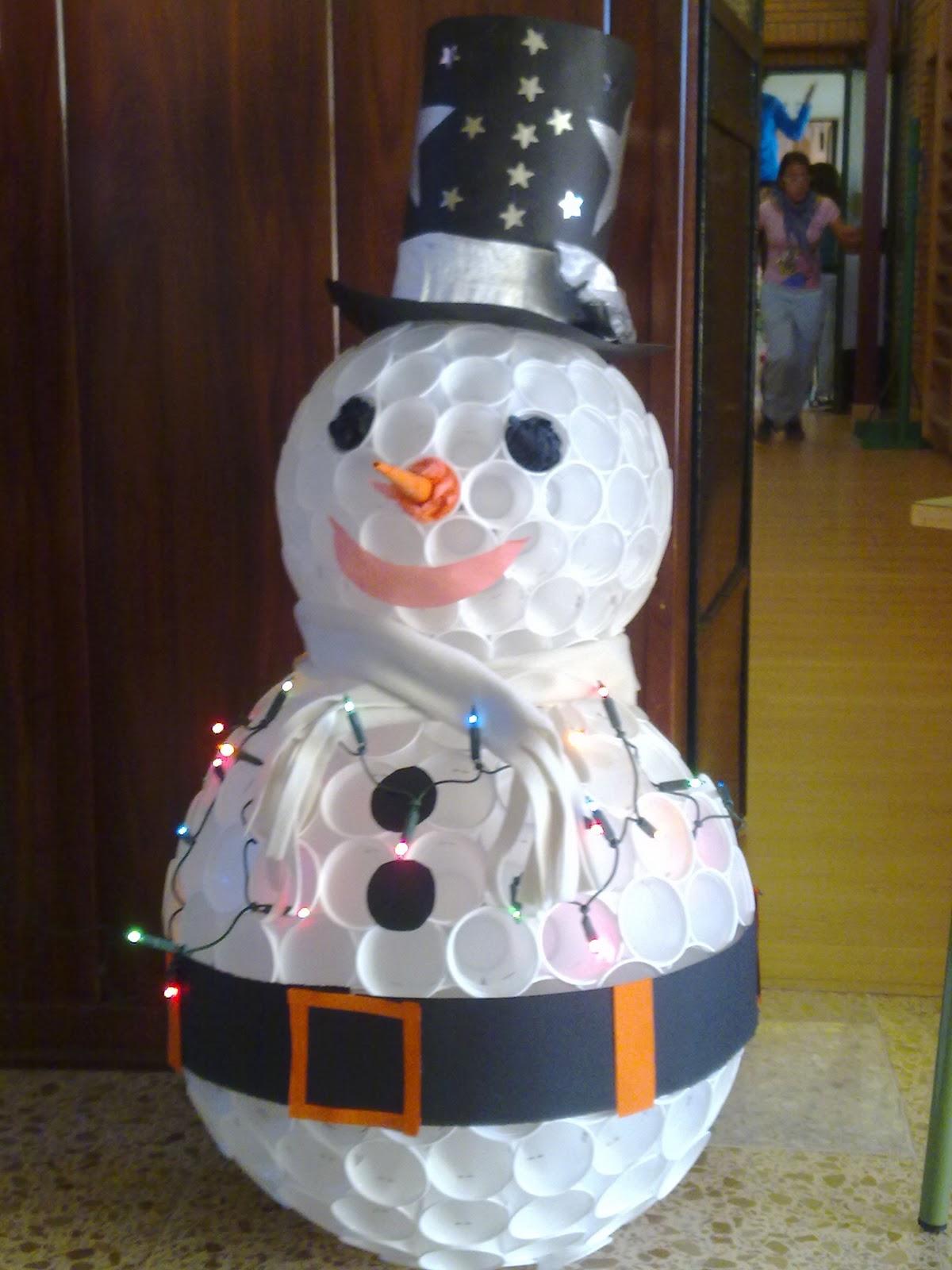 Salon De Clases Decorado De Navidad ~ fotos y ver el v?deo tutorial para realizar el mu?eco pinchar en