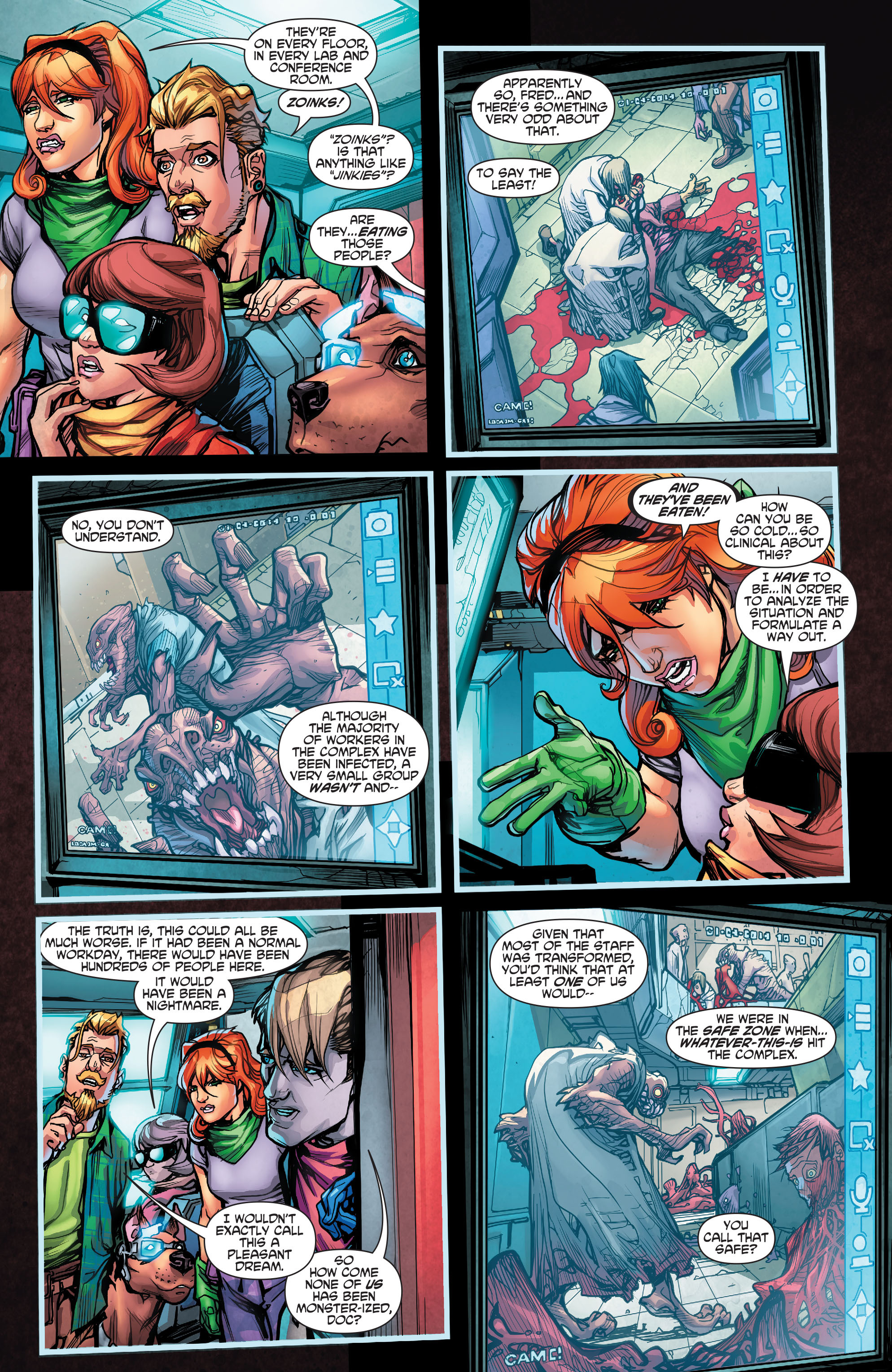 Read online Scooby Apocalypse comic -  Issue #2 - 14