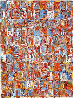 Numbers in Colors - Jasper Johns, 1958