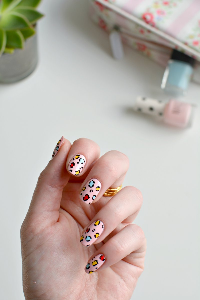 nails | easy leopard nail art | BURKATRON