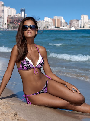 Klaudia El Dursi hot photos from Lori swimwear