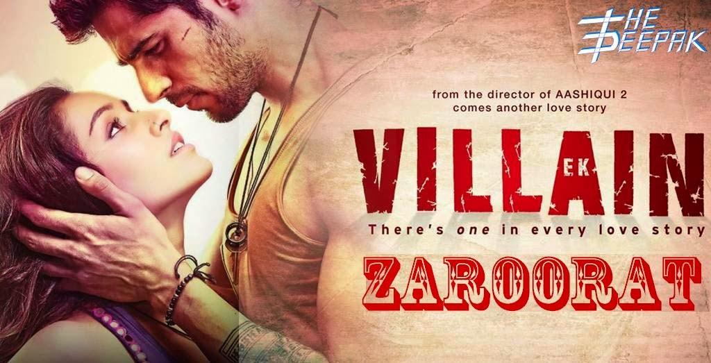Zaroorat Ek Villain - Shraddha Kapoor, Sidharth Malhotra, Riteish Deshmukh - Mohit Suri, Ekta Kapoor, Shobha Kapoor