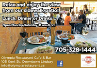 image Olympia Restaurant Lindsay Kawartha Lakes