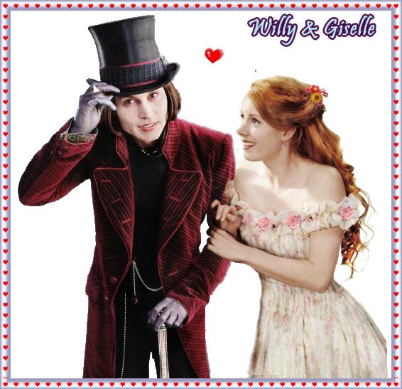Willy wonka & Giselle wonka