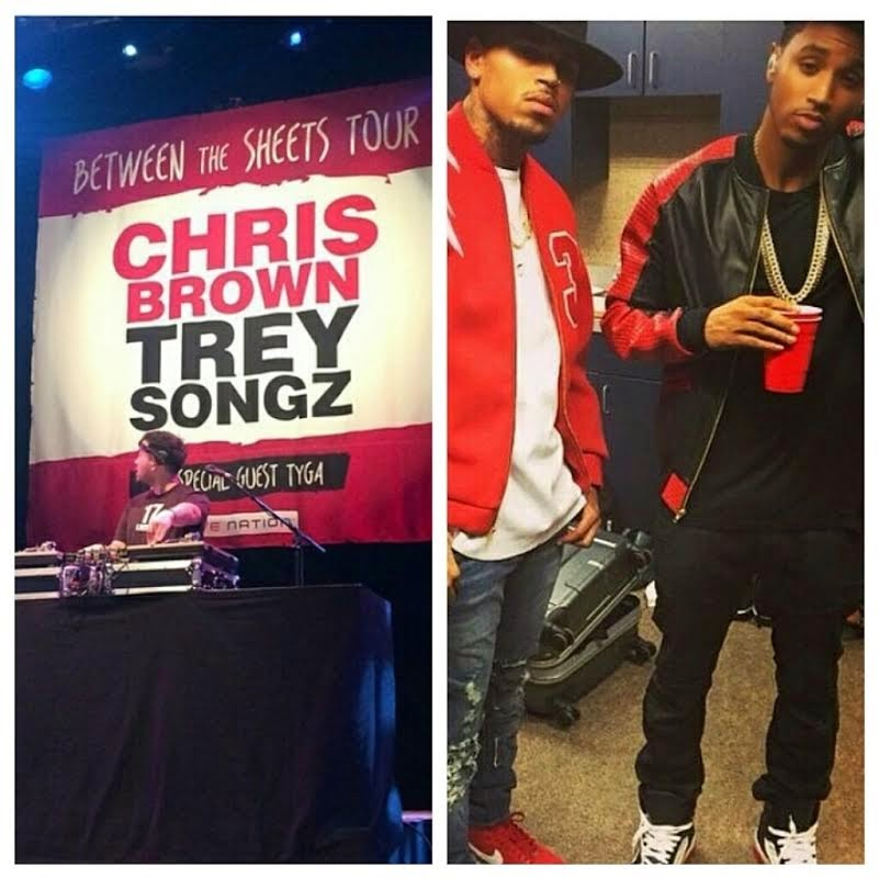 "Chris Brown & Trey Songz ""Between the Sheets"" Tour Details"