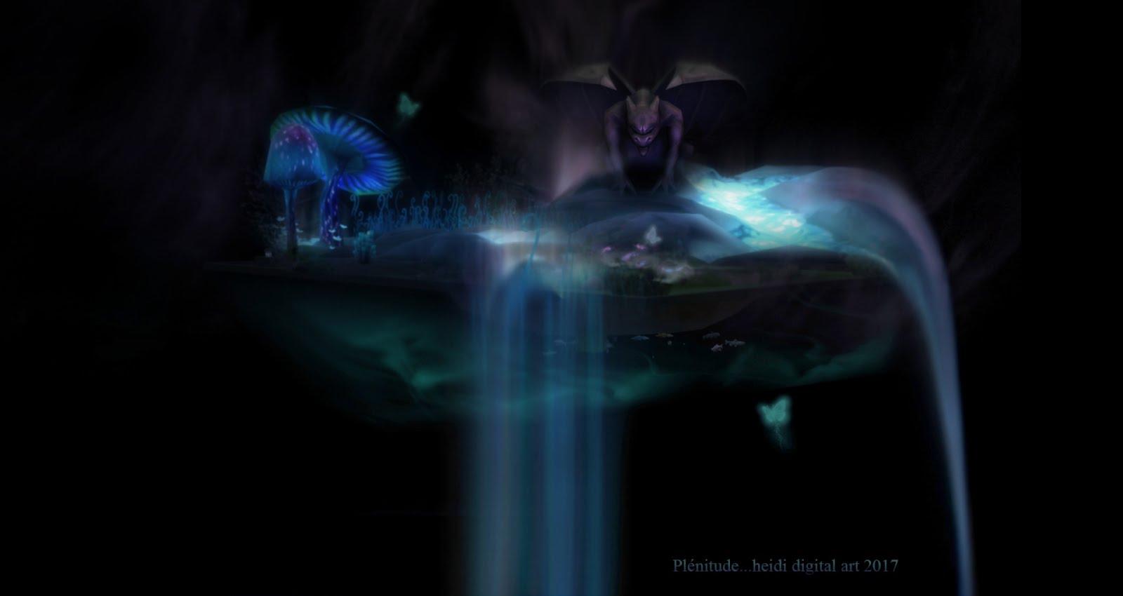 Une de mes créations sur base de captures du jeu Sims 4