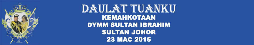 <center>Kemahkotaan DYMM Sultan Ibrahim Sultan Johor</center>