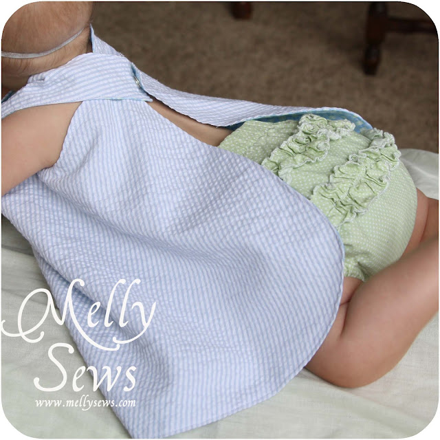 Adorable ruffle bloomers tutorial - Melly Sews