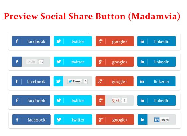 Cara Membuat Social Share Button Keren