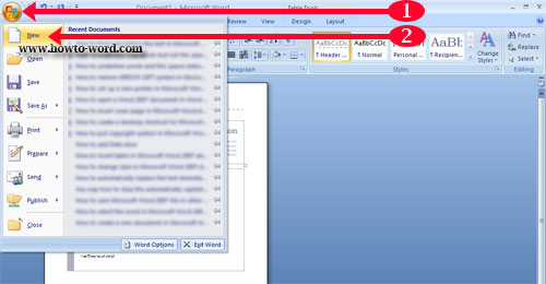 Show The Developer Tab In Microsoft Word 2010