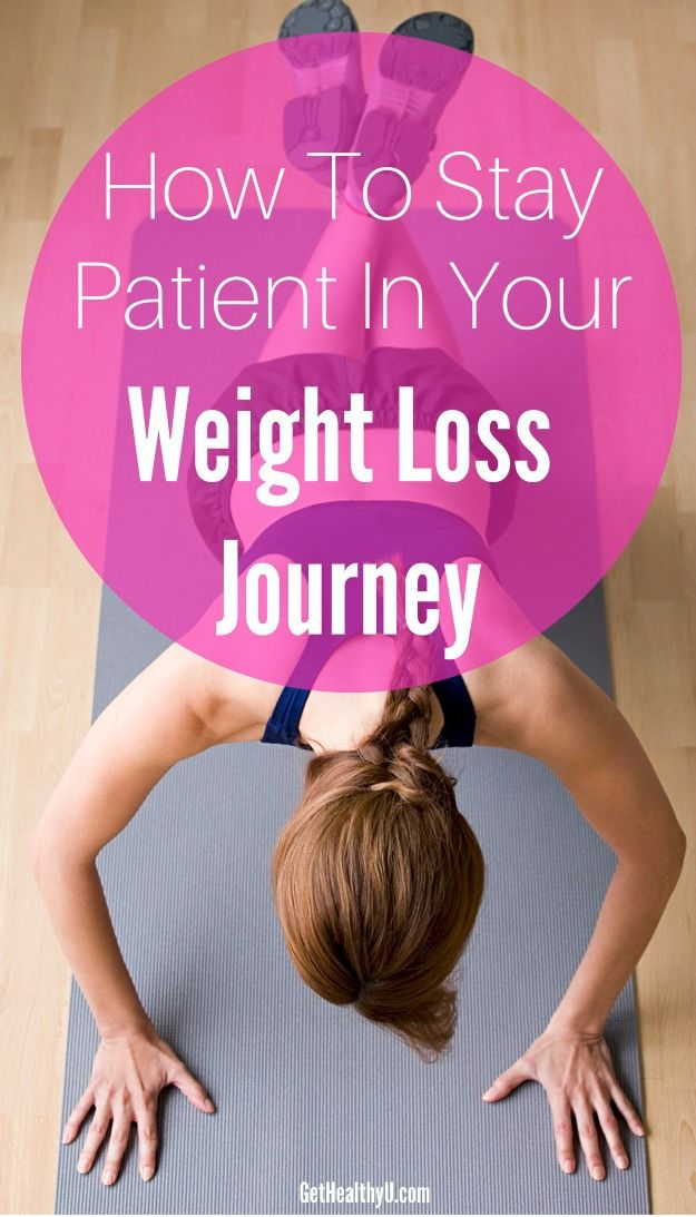 How To Stay Patient In Your Weight Loss Journey