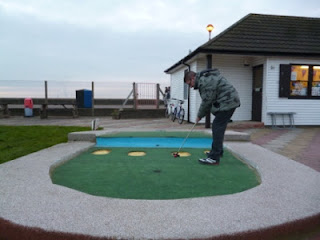 Photo of the Arnold Palmer Crazy Golf course in Southend-on-Sea