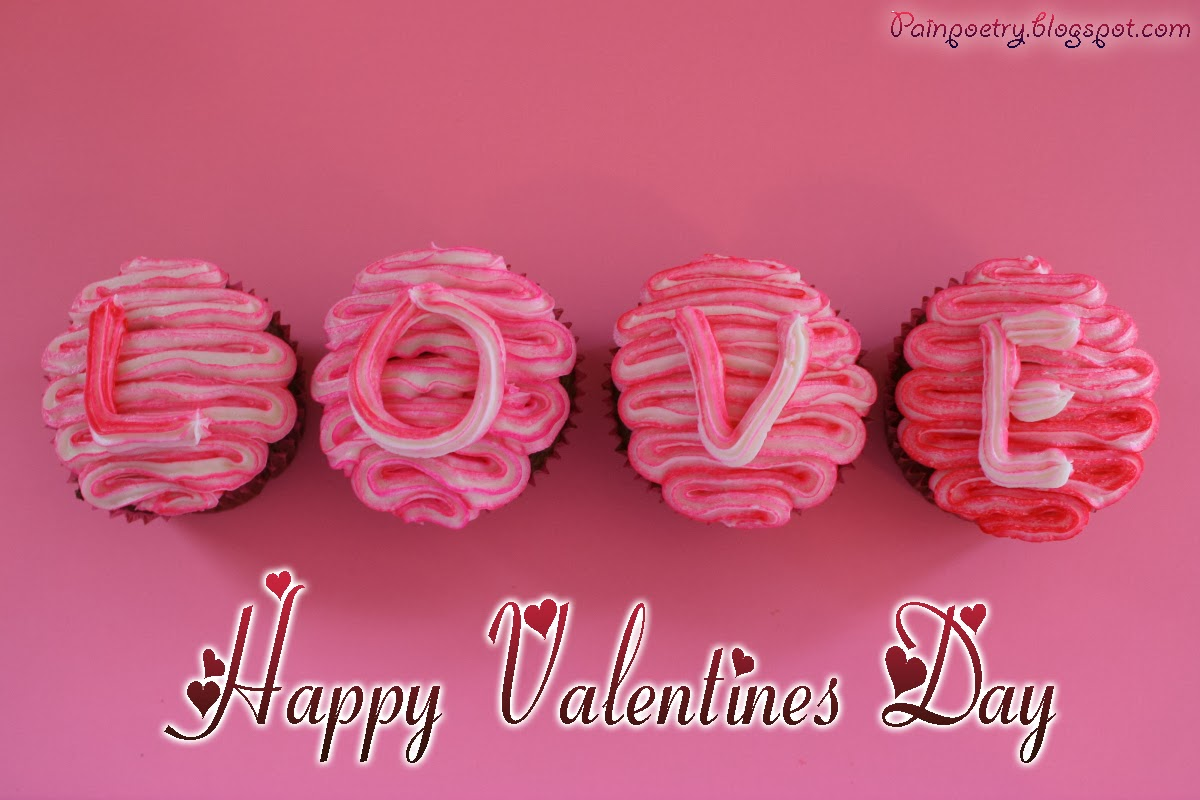 Happy-Valentines-Day-Right-Love-On-Small-Cakes-Image-HD