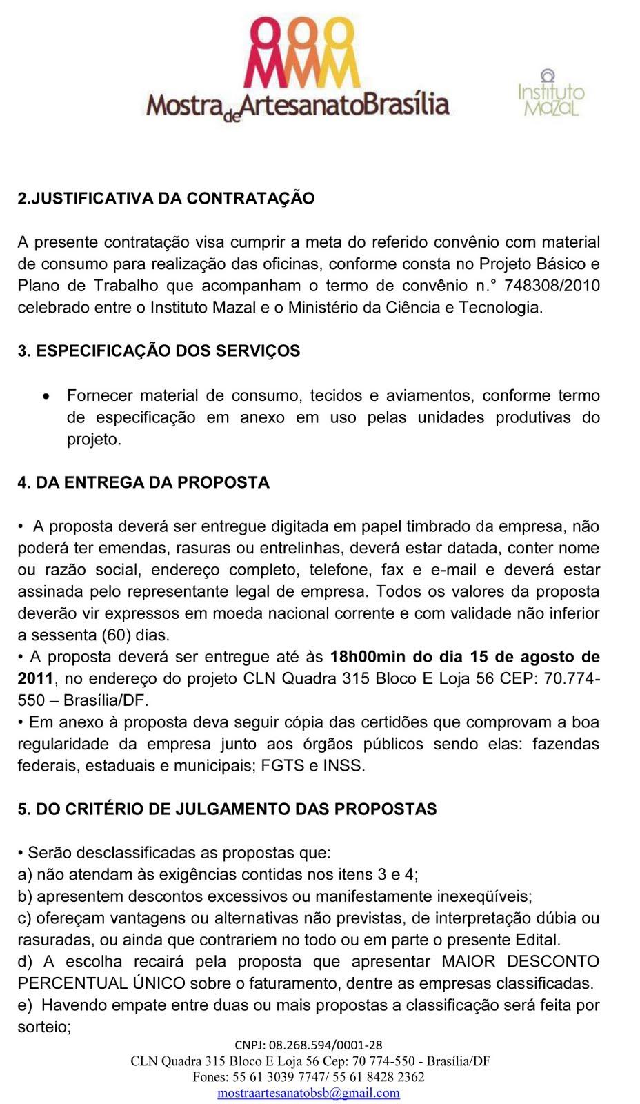 Favoritos Mostra Artesanato Brasília VH49