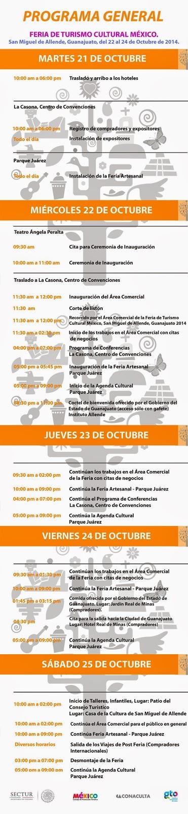 Feria de turismo cultural San Miguel de Allende 2014