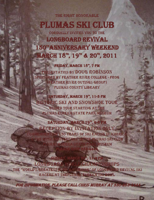 Plumas Ski Club Longboard Revival 150 Years