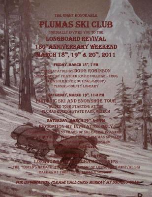 Plumas Ski Club Longboard Revival 150 Years