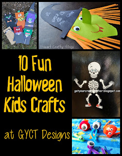 10 Fun Halloween Kids Crafts at GYCT