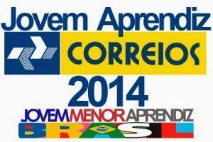 CORREIOS CONCURSO 2014 JOVEM APRENDIZ INSCRIÇÕES