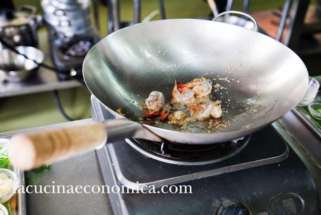 scuola di cucina al blue elephant. lezione settima: ' le attrezzature per cucinare thai'