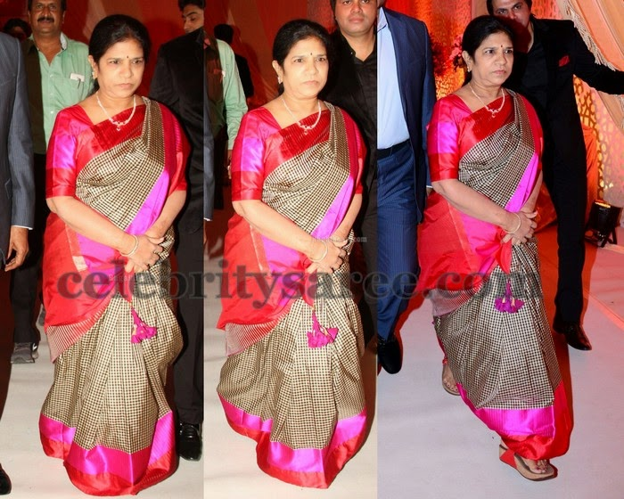 Surekha Checks Silk Saree